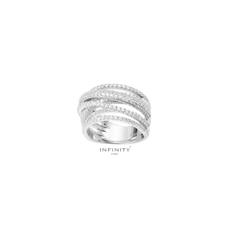 Bague Interlace